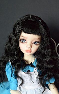BJD-club • Просмотр темы - Мои творческие порывы Ooak Dolls, Blythe Dolls, Dolores Haze, Big Eyes Artist, Gothic Dolls, Doll Parts, Doll Repaint, Doll Hair, Cute Dolls