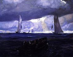 The Seiners Rockwell Kent