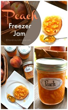 Make this Peach Freezer Jam recipe to preserve and enjoy the delicious fruit all year long.