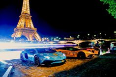 The Scandiera supercar rally from Stockholm to Monaco hosts a collection of the most impressive vehicles in the world from  Lamborghini Aventador SV, McLaren 570S, Ferrari FF, Porsche GT3 RS to the Aston Martin V8 Vantage.