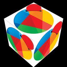 Spinning Reddcoin cube