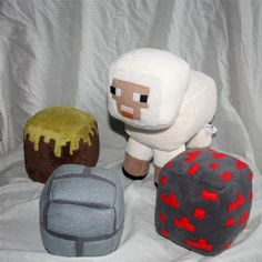 minecraft plush sheep | ... Minecraft , would make a perfect for Christmas present for a Minecraft