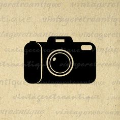 Camera Image Digital Printable Graphic Download Illustration Vintage Clip Art. High quality printable digital graphic download from antique artwork. This high resolution digital illustration is great for iron on transfers, making prints, and more. This image is high quality, high resolution at 8½ x 11 inches. Transparent background version included with every graphic.