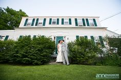 Bill & Katie: Sweet Jackson New Hampshire Wedding by Anne Skidmore Photography