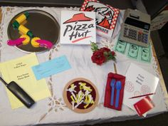 Pizza: dramatic play