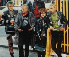 Punks on the King's Road, London, 1978