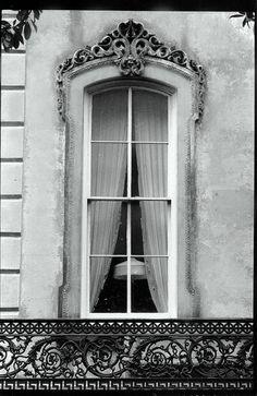 Old world window ~ South Historic District, Savannah, Georgia
