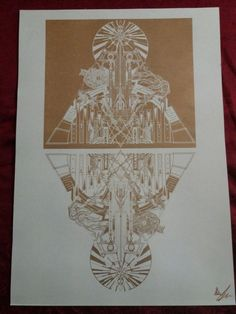 Ina Auderieth - Tarot and symbolic Art from Austria. Tarot interpretations and Webshop - limited Fine Art Prints, Shirts and Bags Riso Print, Tarot Interpretation, Symbolic Art, Esoteric Art, Occult Art, Gold Print, Gothic Art, Fantastic Art, Psychedelic Art