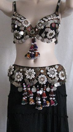 Belly dance Tribal ATS Fusion Tribal belly dance bra by Folkdances