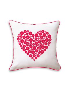 Love Button Pillow by Naked Decor at Gilt