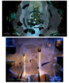 Artes do Game Ori and the Blind Forest, do Moon Studios | THECAB - The Concept Art Blog