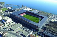 Click this image to show the full-size version. Soccer Stadium, Football Stadiums, Football Tops, International Games, Conference Facilities, Sports Complex, Soccer Kits, Chicago Fire, Real Madrid