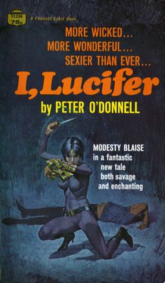 US paperback cover of I, Lucifer