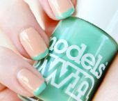 2012 nail trends: mint & nude