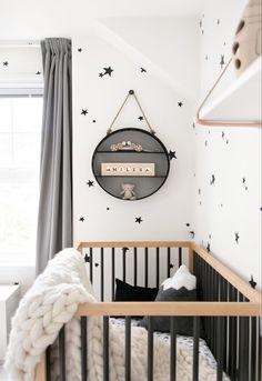 MILES' BOHO MONOCHROME NURSERY REVEAL — WINTER DAISY | Melissa Barling, Kids' Interior Decorator & Lifestyle Blogger