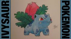 Drawing Time Lapse: Ivysaur (Pokemon) ポケットモンスター || #002