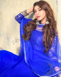 Arjun is a great person and a great co-actor to work with-Sonarika Bhadoria Dress Indian Style, Indian Fashion Dresses, Indian Wear, Beautiful Girl Indian, Beautiful Indian Actress, Beautiful Saree, Beautiful Actresses, Sonarika Bhadoria, Indian Photoshoot