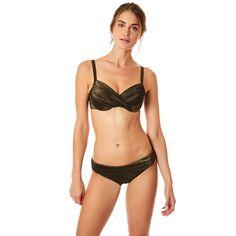 36f0916f90 Haut De Maillot De Bain 2 Pieces Femme Brillant Saskia Kerios Bonnet D -  Taille :