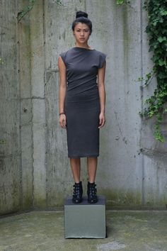Study New York Charcoal Twist Dress, $110, available at Study New York.