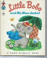 Little Bobo and His Blue Jacket - Rand McNally Tip-Top Elf Book #8654