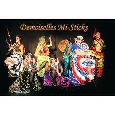 Demoiselles Mi-Sticks - Spectacle Cabaret - VAR - PACA  Vous recherchez un tableau cabaret burlesque ?  Les Demoiselles Mi-Sticks proposent un grand show music-hall, des danseuses et chanteuses sont là pour faire revivre le 7ème art.