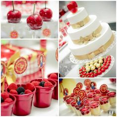 Snow White Party Full of Fabulous Ideas via Kara's Party Ideas KarasPartyIdeas.com #SnowWhite #SnowWhiteAndTheSevenDwarfs #PoisonedApple #Pa...
