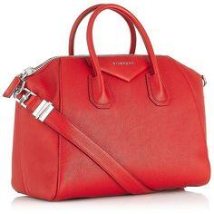 Givenchy Antigona Tote Bag ❤ liked on Polyvore