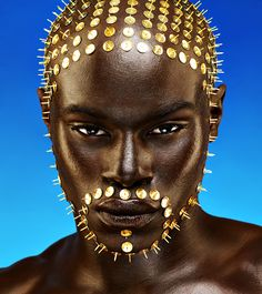 Maya Guez - Pin head   #black men