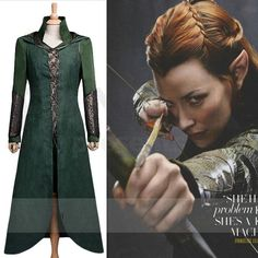 The Hobbit Cosplay Tauriel Costume