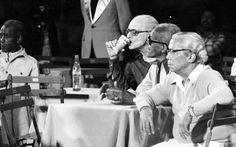Da esq. para dir:, Mario Lago, Cartola e Nelson Cavaquinho. Visite o Traço de União: http://www.tracodeuniao.com.br