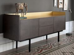 Sideboard with display cabinets STOCKHOLM - Punt