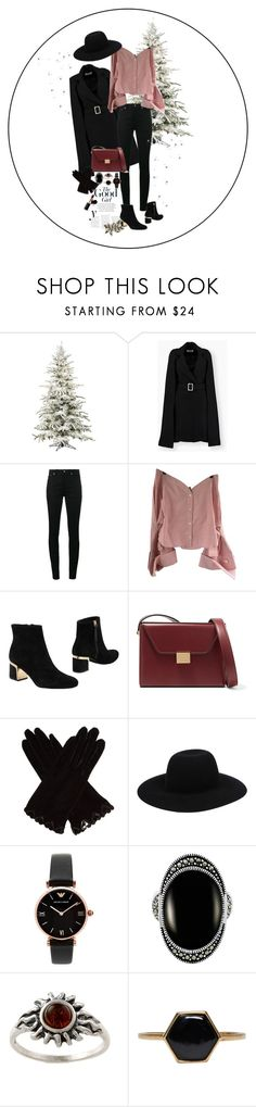 """Let's get Lonely Together"" by laila-mammadova ❤ liked on Polyvore featuring Yves Saint Laurent, Jacquemus, DKNY, Victoria Beckham, AGNELLE, Emporio Armani, Le Vieux, Amber Sun and Isabel Marant"