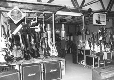guitars back in the days at session - Das Musikhaus