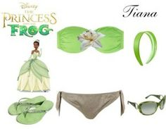 Outfit Tiana... #Disney #moda #1001consejos