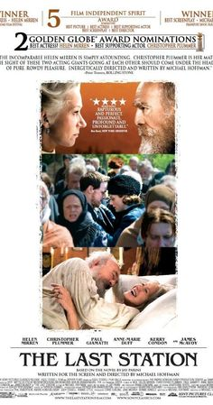 The Last Station rated 7.1 A historical drama that illustrates Russian author Leo Tolstoy's struggle to balance fame and wealth with his commitment to a life . . .