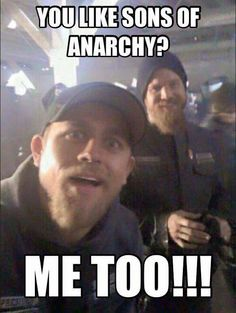 JAX AND OPIE SONS OF ANARCHY