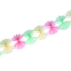 Paper Flowers Garland