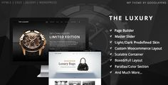 The Luxury - Dark/Light Responsive WordPress Theme . The has features such as High Resolution: Yes, Widget Ready: Yes, Compatible Browsers: IE9, IE10, IE11, Firefox, Safari, Chrome, Compatible With: WPML, WooCommerce 2.2.x, WooCommerce 2.1.x, Software Version: WordPress 4.6.1, WordPress 4.6, WordPress 4.5.x, WordPress 4.5, WordPress 4.4, WordPress 4.3.1, WordPress 4.3, Columns: 4+