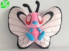 Pokemon Butterfree Plush Doll 12 inches PNPL8205