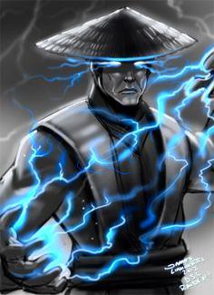 Raiden -Mortal kombat  (DSC) by ~jameslink Nailed it!