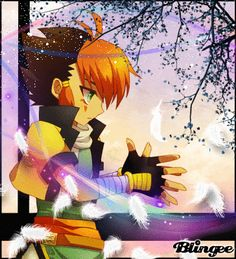 Nile Feather Dream   created by: Kyoya-Chan on Blingee   This is so pretty! I love this blingee!