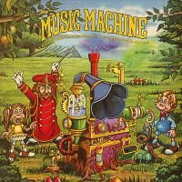 Music Machine-spent hours listening to this record, and singing along with the large board book..  Christian Kids Music by Frank & Betsy Hernandez