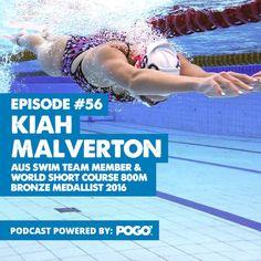 The Physical Performance Show: Kiah Malverton – AUS Swim Team Member