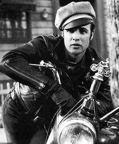 movie motorcycles | Classic Movie Motorcycles: The Wild One.