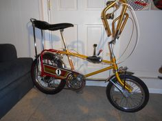 1971 Sears Screamer 5 speed Cool Bicycles, Cool Bikes, Raleigh Chopper, Vintage Bicycles, Tricycle, My Ride, Choppers, Movie Stars, Old School
