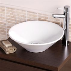 Small Counter Top Basins : ... com/counter-top-basins/nannette-round-counter-top-bowl-42cm-10261.aspx