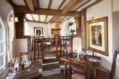 Botley Hill Farmhouse is a country dining inn with amazing views of the beautiful Surrey Hills countryside. They serve delicious food using local, seasonal ingredients. Best Places To Eat, Surrey, In The Heights, The Good Place, Two By Two, Farmhouse, Dining, Home Decor, Homemade Home Decor