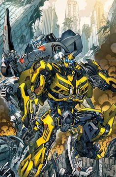 MOVIE BumbleBee and SideSwipe