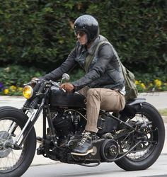 David Beckham, you are one sexy man! Who also has an amazing motorcycle... How can I be more like you?