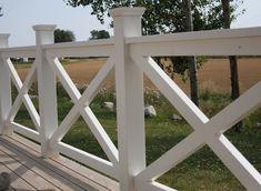 Bildresultat för altan staket vitt